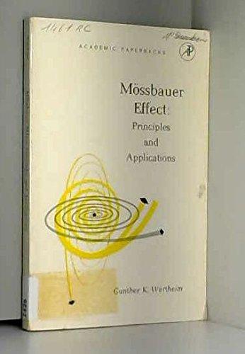 Mossbauer Effect: Wertheim, Gunther Klaus