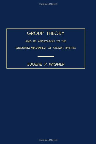 Group Theory and its Application to the: Wigner, Eugene P.
