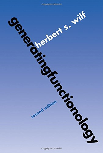9780127519562: generatingfunctionology, Second Edition