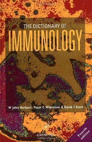 9780127520254: Dictionary of Immunology 4E, Fourth Edition (Oxford Monographs on Criminal Law and)