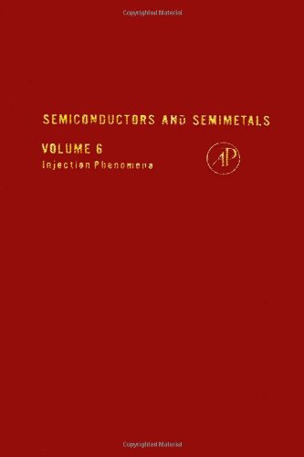 9780127521060: Semiconductors and Semimetals, Vol. 6: Injection Phenomena (v. 6)
