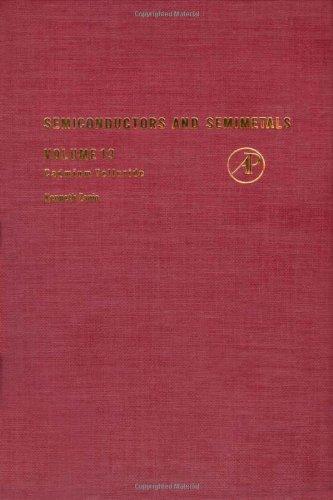 Semiconductors and Semimetals. Volume 13: Cadmium Telluride: Albert C. Beer,