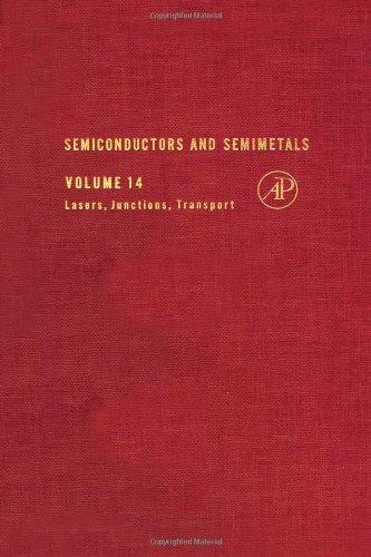 9780127521145: Semiconductors and Semimetals, Vol. 14: Lasers, Junctions, Transport
