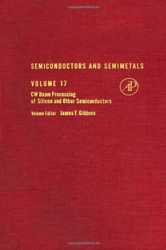 9780127521176: Semiconductors and Semimetals, Vol. 17: CW Beam Processing of Silicon and Other Semiconductors