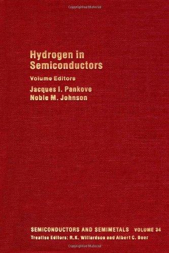 9780127521343: Hydrogen in Semiconductors, Volume 34: Hydrogen in SiliconVolume 34 (Semiconductors and Semimetals)