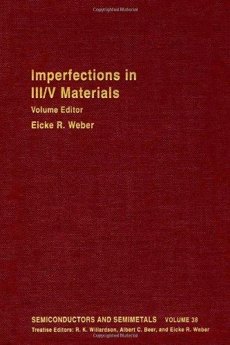 9780127521381: SEMICONDUCTORS & SEMIMETALS V38, Volume 38 (Semiconductors and Semimetals)