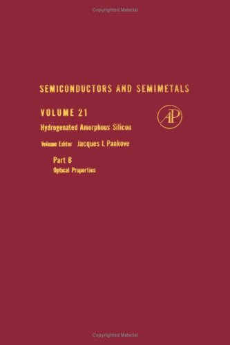 9780127521480: Semiconductors and Semimetals: Hydrogenated Amorphous Silicon v.21: Hydrogenated Amorphous Silicon Vol 21
