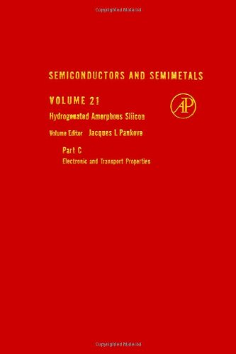 9780127521497: Semiconductors and Semimetals: Hydrogenated Amorphous Silicon v.21: Hydrogenated Amorphous Silicon Vol 21