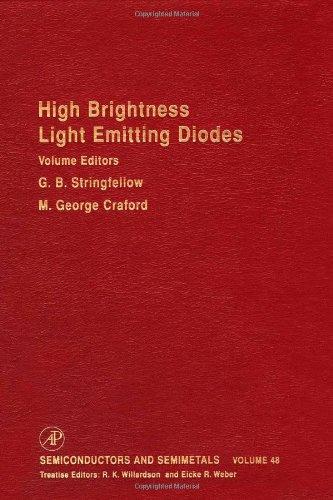 9780127521565: High Brightness Light Emitting Diodes, Volume 48 (Semiconductors & Semimetals) (Vol.48)
