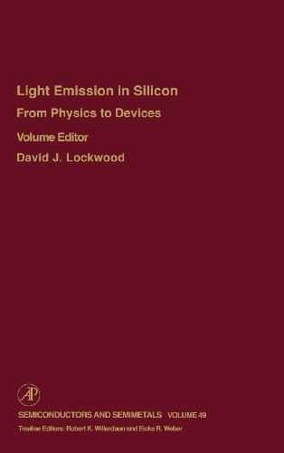 9780127521572: From Physics to Devices: Light Emissions in Silicon, Volume 49: Light Emissions in Silicon: From Physics to Devices (Semiconductors & Semimetals)