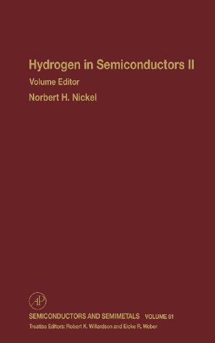 9780127521701: Hydrogen in Semiconductors II, Volume 61 (Semiconductors and Semimetals) (Vol 61)