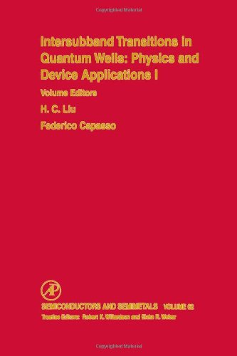 9780127521718: Intersubband Transitions in Quantum Wells: Physics and Device Applications, Volume 62 (Semiconductors & Semimetals)