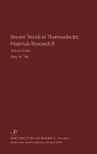 9780127521794: Recent Trends in Thermoelectric Materials Research, Part Two, Volume 70 (Semiconductors & Semimetals)