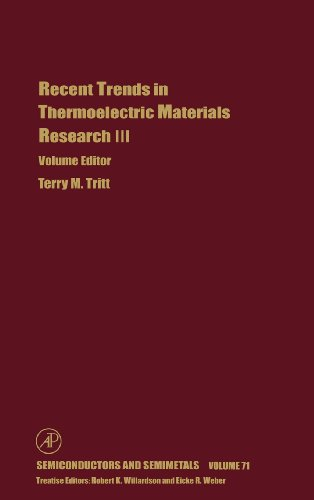 9780127521800: Recent Trends in Thermoelectric Materials Research: Part Three, Volume 71 (Semiconductors and Semimetals)