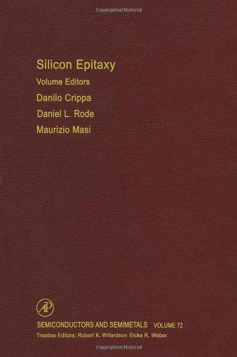 9780127521817: Silicon Epitaxy, Volume 72 (Semiconductors & Semimetals)