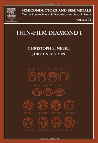 9780127521855: Thin-Film Diamond I, Volume 76: (part of the Semiconductors and Semimetals Series) (Semiconductors & Semimetals)