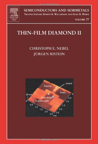 9780127521862: Thin-Film Diamond II, Volume 77: (part of the Semiconductors and Semimetals Series)