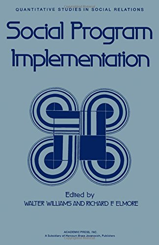 9780127568508: Social Programme Implementation (Quantitative studies in social relations)