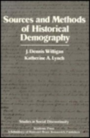 9780127570228: Sources and Methodology of Historical Demograhy (Studies in social discontinuity)