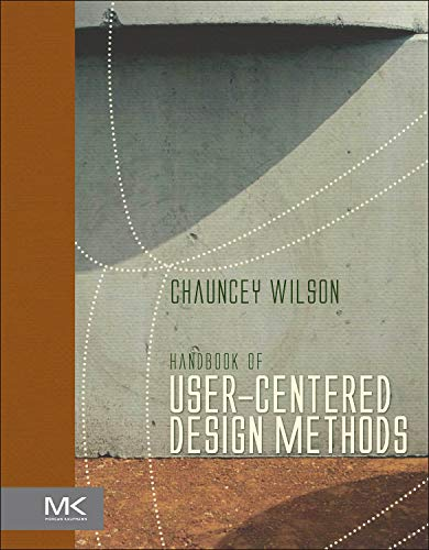 9780127578538: Handbook of User-Centered Design Methods