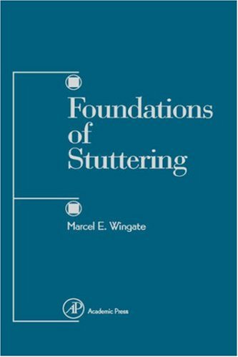 9780127594514: Foundations of Stuttering