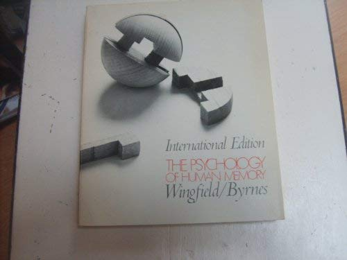 9780127596303: Psychology of Human Memory