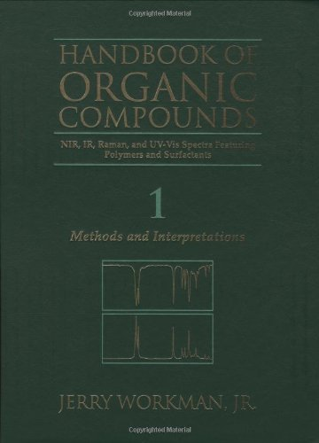 9780127635613: Handbook of Organic Compounds NIR, IR, Raman, and UV-Vis Spectra Featuring Polymers and Surfactants, 3 Volume Set: Methods and Interpretations, UV-Vis and NIR Spectra, IR and Raman Spectra