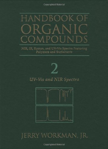 9780127635620: Handbook of organic compounds: NIR, IR, raman, and UV-Vis spectra featuring polymers and surfactants