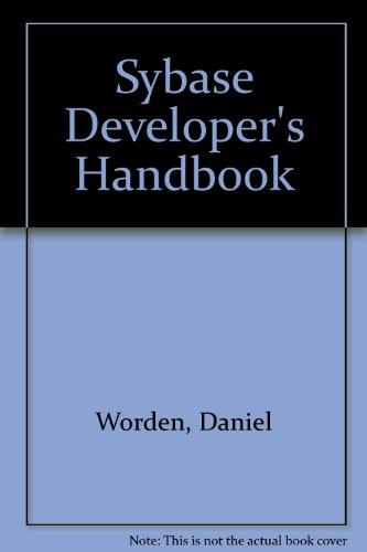 9780127639512: Sybase Developer's Handbook
