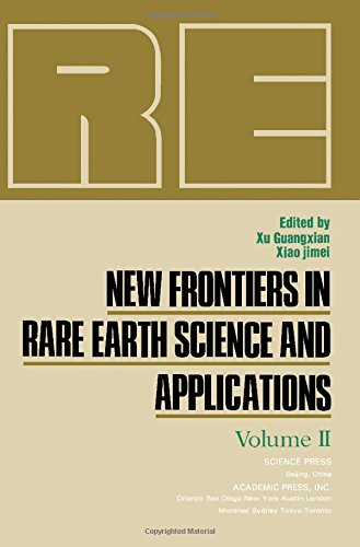 9780127676623: New Frontiers in Rare Earth Science and Applications: v. 2