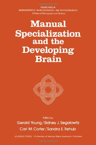 9780127731407: Manual Specialization and the Developing Brain (Perspectives in Neurolinguistics, Neuropsychology, & Psycholinguistics)
