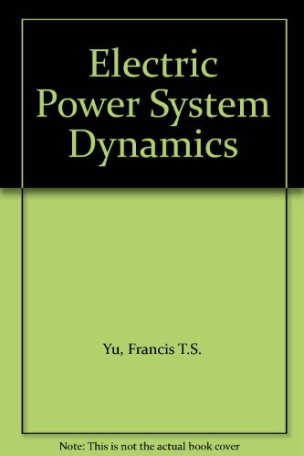 9780127748207: Electric Power System Dynamics
