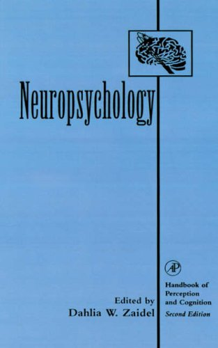 9780127752907: Neuropsychology (Handbook Of Perception And Cognition)