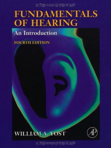 9780127756950: Fundamentals of Hearing, Fourth Edition: An Introduction