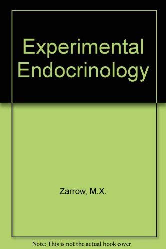 9780127760506: Experimental Endocrinology : A Sourcebook of Basic Techniques