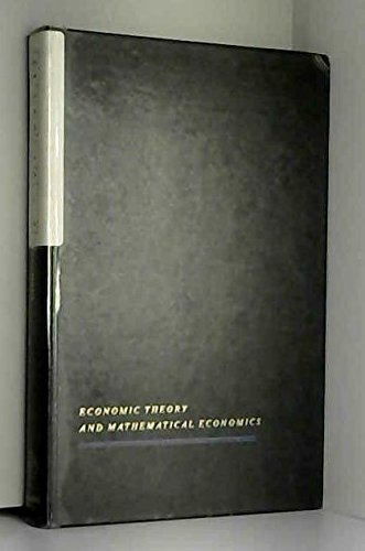 Frontiers in Econometrics (Economic theory and mathematical: Paul Zarembka