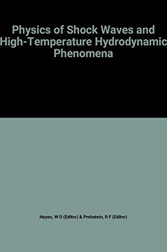 9780127787015: Physics of Shock Waves and High-temperature Hydrodynamic Phenomena: v. 1