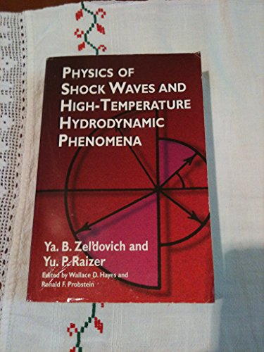 9780127787602: Physics of Shock Waves and High-temperature Hydrodynamic Phenomena