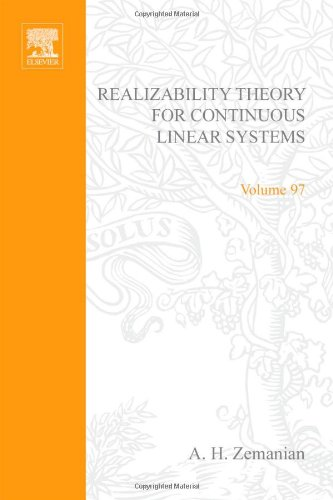 9780127795508: Realizability theory for continuous linear systems, Volume 97 (Mathematics in Science and Engineering)