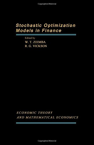 9780127808505: Stochastic Optimization Models in Finance