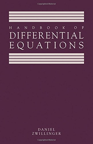 9780127843902: Handbook of Differential Equations