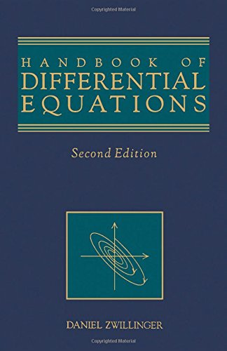 9780127843919: Handbook of Differential Equations