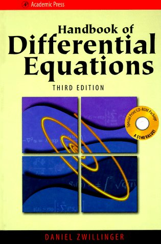 9780127843957: Handbook of Differential Equations (with CD-ROM Version 1), Third Edition (Handbook of Development Economics)