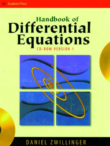 9780127843964: Handbook of Differential Equations