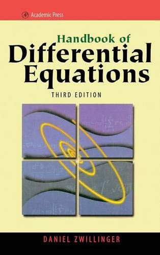 9780127843964: Handbook of Differential Equations, Third Edition