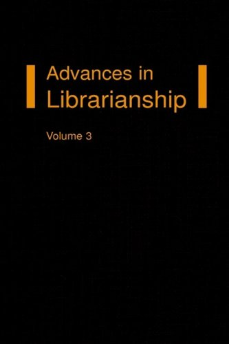 9780127850108: Advances in Librarianship (v. 10)