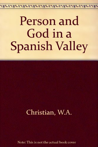 9780127851198: Person and God in a Spanish Valley