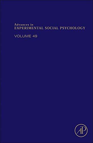 9780128000526: Advances in Experimental Social Psychology