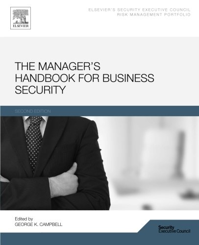 9780128000625: The Manager's Handbook for Business Security