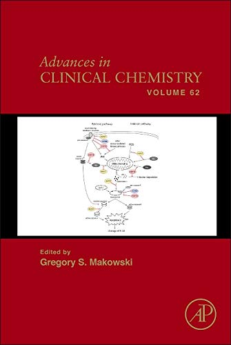 9780128000960: Advances in Clinical Chemistry, Volume 62